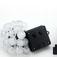 NO 6 M 30 Dip LED Ciepła biel / Biały / RGB / Niebieski Wodoodporny W Łańsuchy świetlne <5V V