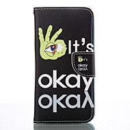 voordelige Galaxy S5 Mini Hoesjes / covers-Voor Samsung Galaxy S7 Edge Portemonnee / Kaarthouder / met standaard hoesje Volledige behuizing hoesje Tegels Zacht PU-leer SamsungS7
