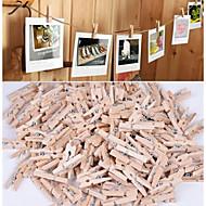 Fa Környezetbarát anyag Esküvői dekoráció-50Darab / készlet Tavasz Nyár Ősz Tél Nem személyesíthetőNagyszerű segítség ha léggömbökkel