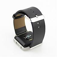 Недорогие Аксессуары для смарт-часов-Ремешок для часов для Fitbit Blaze Fitbit Классическая застежка Кожаный ремешок Кожа Повязка на запястье