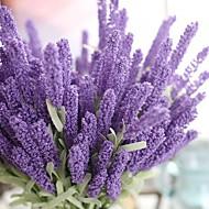 povoljno -1 Podružnica Polyester Svijetlo plava Cvjeće za stol Umjetna Cvijeće