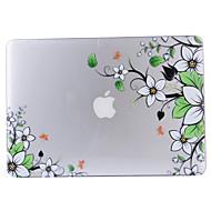 お買い得  MacBook 用ケース/バッグ/スリーブ-MacBook ケース フルボディケース クリア / フラワー プラスチック のために MacBook Air 13インチ / MacBook Pro 13インチ / MacBook Air 11インチ
