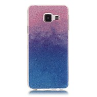 cheap Cases / Covers for Samsung-Case For Samsung Galaxy Samsung Galaxy Case Other Back Cover Color Gradient Soft TPU for A5(2016) A3(2016)