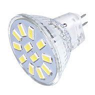 GU4(MR11) Точечное LED освещение MR11 12 светодиоды SMD 5733 Декоративная Тёплый белый Холодный белый 250lm 3000/6000K 9-30V