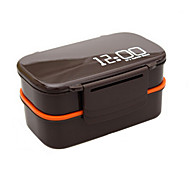 cheap Storage and Organization-1pc Lunch Box Plastic Easy to Use Kitchen Organization