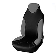 Car Seat Covers Seat Covers Black / Blue / Black & Yellow / Black & Gray Textile Common For Volvo / Volkswagen / Toyota IS350