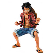 Anime Actionfigurer Inspirerad av One Piece Monkey D. Luffy PVC 18 CM Modell Leksaker Dockleksak
