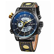 WEIDE Muškarci Ručni satovi s mehanizmom za navijanje Kvarc Japanski kvarcLCD Kalendar Kronograf Vodootpornost Sat s dvije vremenske zone