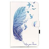 Для Кейс для  Samsung Galaxy Бумажник для карт / Кошелек / со стендом / Флип / С узором Кейс для Чехол Кейс для Перо МягкийИскусственная