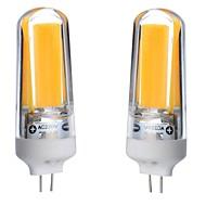 3W G4 Luminárias de LED  Duplo-Pin T 1 COB 300-350 lm Branco Quente Branco Frio Branco Natural 3000-6000 K Impermeável Regulável