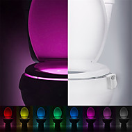 halpa -ywxlight® -liike-aktivoitu wc-yövalo, johti wc-kylpyhuoneen pesuhuoneeseen