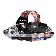 preiswerte Taschenlampen, Laternen & Lichter-U'King ZQ-X823 Stirnlampen Schweinwerfer LED 4500 lm 4.0 Modus LED Wiederaufladbar Kompakte Größe Einfach zu tragen Hohe Kraft Camping /