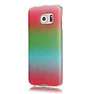 Для Samsung Galaxy S7 Edge С узором Кейс для Задняя крышка Кейс для Сияние и блеск Мягкий TPU Samsung S7 edge / S7 / S6 edge / S6 / S5