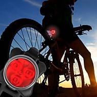 billige Lommelygter-Cykellys Forlygte til cykel Baglygte til cykel LED - Cykling Nemt at bære Varsling C-Cell 40 Lumen Usb Dagligdags Brug Cykling