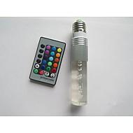 3W B22 E26/E27 Smart LED-lampe T 1 Højeffekts-LED 100-210 lm RGB Fjernstyret Vekselstrøm 85-265 V 1 stk.