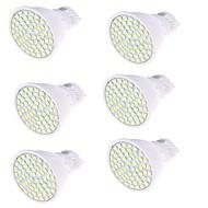 olcso LED szpotlámpák-GU10 LED szpotlámpák MR16 80 led SMD 2835 Dekoratív Meleg fehér Hideg fehér 450lm 3000/6000K AC 220-240V