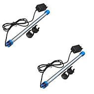 お買い得  LED水槽用ライト-3W 300-400 lm 4-Pin LEDアクアリウムライト チューブ 27 LEDの SMD 2835 防水 装飾用 クールホワイト ブルー AC 110〜130V AC 220-240V
