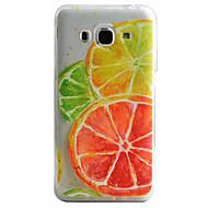 Voor Samsung Galaxy hoesje Patroon hoesje Achterkantje hoesje Fruit Zacht TPU Samsung J5 (2016) / J5 / J3 (2016)