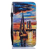 Для Кейс для  Samsung Galaxy Кошелек / Бумажник для карт / со стендом Кейс для Чехол Кейс для Камуфляж Твердый Искусственная кожа Samsung