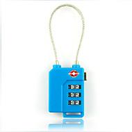 お買い得  トラベル小物-トラベル かばん用南京錠 バッグ用小物 メタル