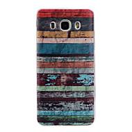tanie Galaxy J5(2016) Etui / Pokrowce-Kılıf Na Samsung Galaxy Samsung Galaxy Etui Wzór Czarne etui Linie / fale Miękkie TPU na J7 (2016) J5 (2016) J3 (2016)