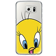 abordables Etuis / Coques pour Samsung-Coque Pour Samsung Galaxy Samsung Galaxy S7 Edge Ultrafine Translucide Coque Bande dessinée Flexible TPU pour S7 edge S7 S6 edge plus S6