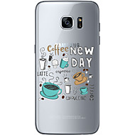 Недорогие Чехлы и кейсы для Galaxy S-Кейс для Назначение SSamsung Galaxy Samsung Galaxy S7 Edge С узором Кейс на заднюю панель Рождество Мягкий ТПУ для S7 edge S7 S6 edge