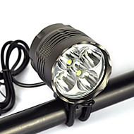 Hodelykter Sykkellykter Lanterner & Telt Lamper sikkerhet lys Frontlykt Lykte stropper sykkel glødelamper Frontlys til sykkel LED 8000 lm