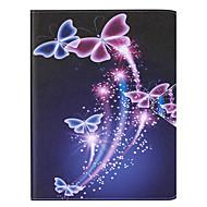 billige Etuier og covers til iPad-For Kortholder Etui Heldækkende Etui Sommerfugl Hårdt Kunstlæder for Apple iPad Mini 4 iPad Mini 3/2/1
