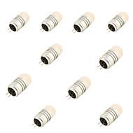 g4 LED-lampjes t 8 smd 3020 120lm warm wit koud wit 3000k / 6000k decoratieve dc 12v