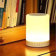お買い得  -jiawenインテリジェントワイヤレスBluetooth 4.0音楽スピーカーは、デスクランプ直流5V音楽プレーヤー調光可能な常夜灯を主導しました