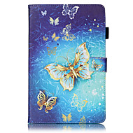 PU Leather Material Gold Butterfly Embossed attern Tablet Case for Samsung Galaxy Tab T815 T715 T580 T560 T550 T377 T280