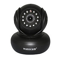 halpa -WANSCAM 1.0 MP Indoor with Päivä yö Premium Day Night Motion Detection Remote Access Plug and play) IP Camera