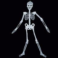 1pc halloween prop 150cm esqueleto esqueleto noctilucent