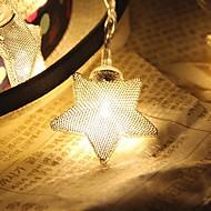 رخيصةأون -10-ليد 1.5 متر نجم ضوء للماء المكونات في عطلة الديكور ضوء أدى سلسلة ضوء