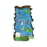 povoljno -Pejzaž Zid Naljepnice 3D zidne naljepnice Dekorativne zidne naljepnice Početna Dekoracija Zid preslikača Zid Kat