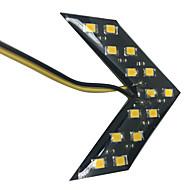 Недорогие Задние фонари-2pcs Автомобиль Лампы SMD 5630 Светодиодная лампа Задний свет / Декоративное освещение / Стоп-сигнал