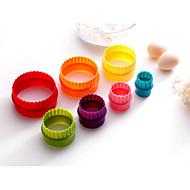 baratos -7PCS Cozimento Bricolage / Ferramenta baking Biscoito Plástico Formas de Cupcake e Muffin