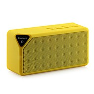 cheap Speakers-Mini Bluetooth Speaker X3 TF USB FM Radio Wireless Portable Music Sound Box Subwoofer Loudspeakers with Mic