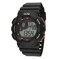 Vilam Kinderen Sporthorloge Polshorloge Modieus horloge Digitaal horloge Digitaal Kalender Waterbestendig LCD Stopwatch Plastic Band
