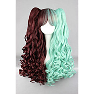 Недорогие Парики из искусственных волос-жен. Парики из искусственных волос Без шапочки-основы Волнистые Зеленый Африканские косички Парик с косичками Парик Лолита Парики для
