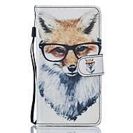 Для samsung galaxy j5 j5 (2016) case fox pu кожаный кошелек