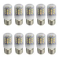 お買い得  LED コーン型電球-4 E26/E27 LEDコーン型電球 T 48 SMD 2835 280 lm 温白色 / クールホワイト 装飾用 AC 85-265 / 9-30 V 10個