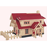 preiswerte Spielzeuge & Spiele-Holzpuzzle Haus Profi Level Hölzern 1pcs Kinder Jungen Geschenk