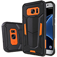 For Samsung Galaxy S7 Edge Shockproof / with Stand Case Back Cover Case Armor PC Samsung S7 edge / S7
