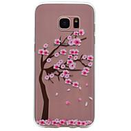 Для samsung galaxy s8 plus s6 рисунок вишневого дерева tpu высокая чистота полупрозрачный мягкий чехол для телефона s7 s6 край s5 s4 s3 s8