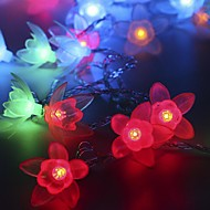 voordelige LED-snoerverlichting-20-led 2,5 m ster licht waterdicht plug outdoor vakantie decoratie licht geleid snaar licht