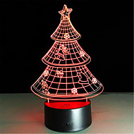 Christmas Gift 3D Nightlight Creative Colorful LED Lamp High Quality