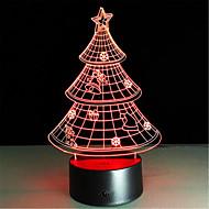 karácsonyi ajándék 3d éjszakai kreatív színes led lámpa kiváló minőségű