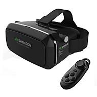 abordables Gafas de Realidad Virtual-casco de realidad virtual vr shinecon 3d juego de película gafas casque pulgada smartphone whit mando a distancia